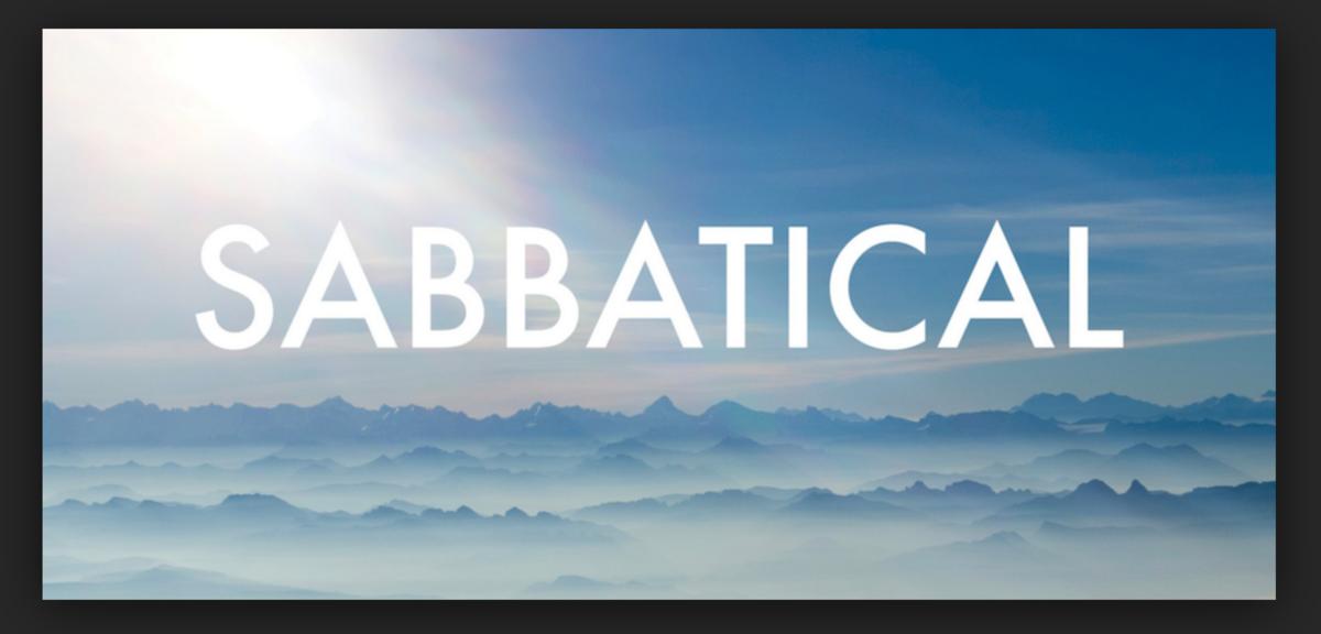 Image result for sabbatical